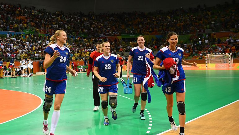 Сборная России - золотая команда Олимпиады в Рио. Фото AFP