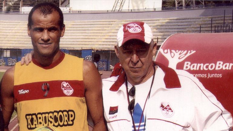 2013 год. Виктор БОНДАРЕНКО (справа) и РИВАЛДО. Фото из архива Виктора Бондаренко