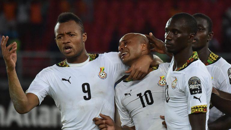 Гана - одна из сильнейших сборных Африки. Фото AFP