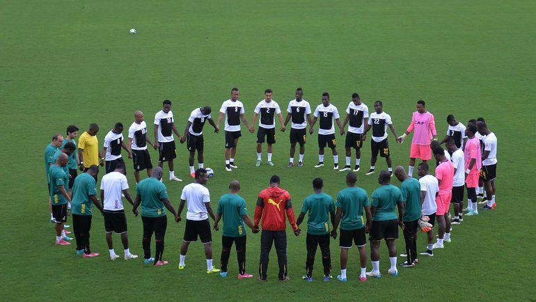 Главный тренер ганцев хвалит атмосферу в сборной. Фото AFP