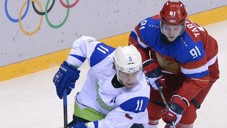 Анже КОПИТАР (слева) и Владимир ТАРАСЕНКО могут сыграть друг против друга в Корее-2018. Фото REUTERS