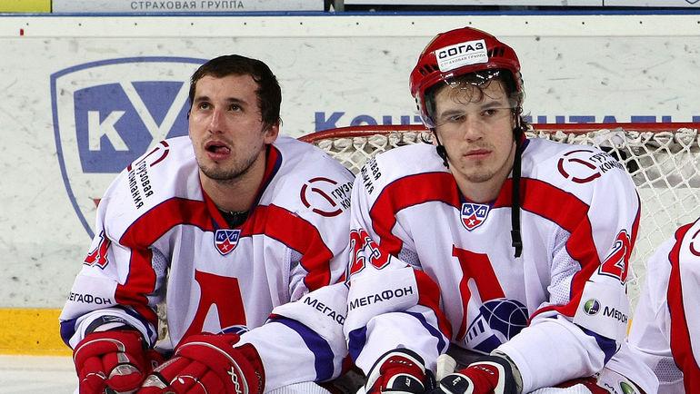 Александр ГАЛИМОВ и Никита КЛЮКИН. Фото photo.khl.ru