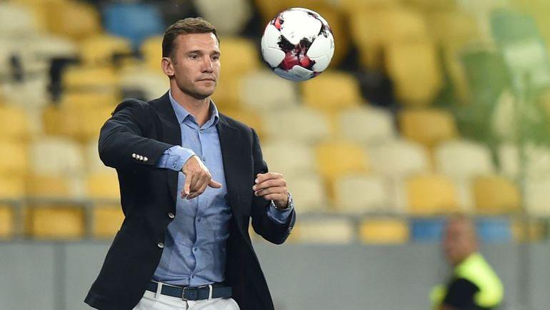 Новый главный тренер сборной Украины Андрей ШЕВЧЕНКО. Фото AFP