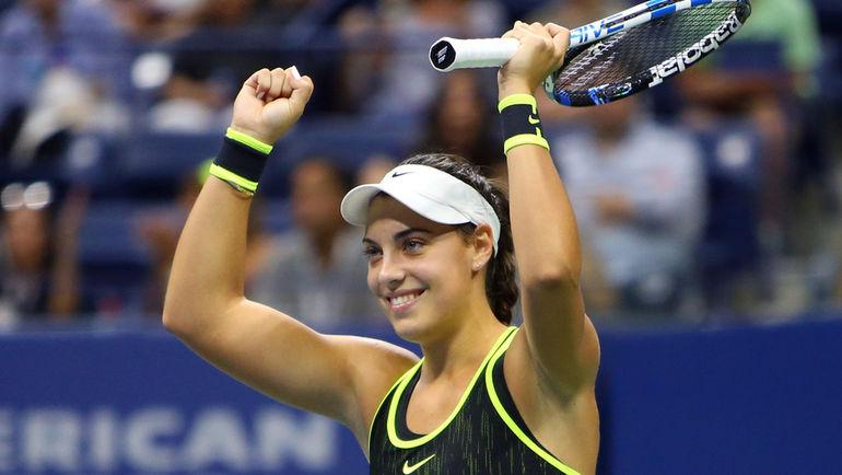 Чемпионка US Open среди юниорок Ана КОНЮХ впервые сыграет во взрослом четвертьфинале. Фото USA Today