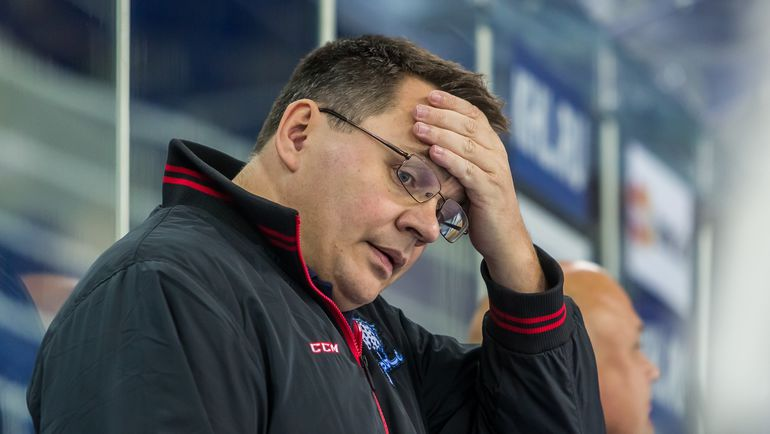 """Андрей НАЗАРОВ больше не главный тренер """"Барыса"""". Фото photo.khl.ru"""