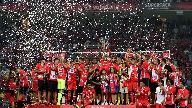 """""""Брага"""" с Суперкубком Португалии. Фото REUTERS"""