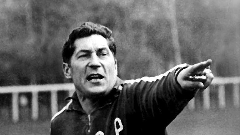 1972 год. Герман ЗОНИН - главный тренер сборной СССР. Фото Юрий СОКОЛОВ.