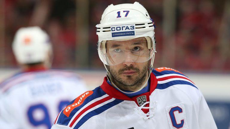 Капитан СКА Илья КОВАЛЬЧУК. Фото photo.khl.ru