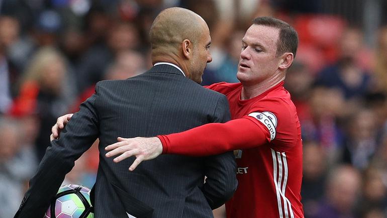 """Суббота. Манчестер. """"Манчестер Юнайтед"""" – """"Манчестер Сити"""" – 1:2. Хосеп ГВАРДЬОЛА и Уэйн РУНИ."""