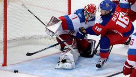 Сегодня. Прага. Чехия - Россия - 2:1 Б. В игре Семен ВАРЛАМОВ.
