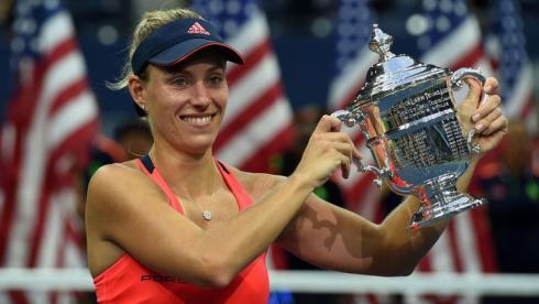 Первая победа первой ракетки.  Кербер выиграла US Open