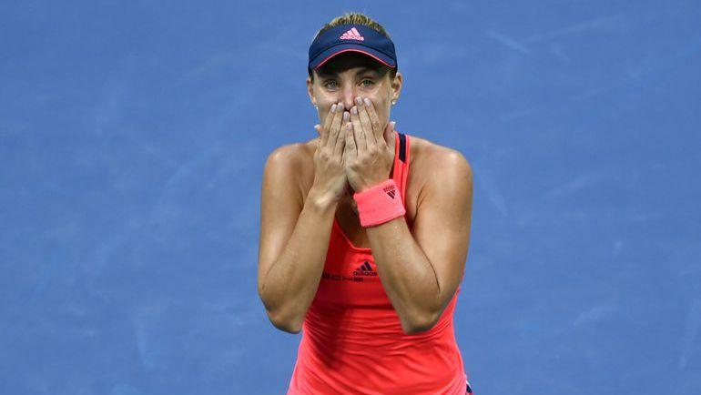 Ангелик КЕРБЕР - чемпионка US Open-2016. Фото AFP