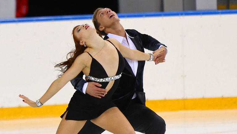Екатерина БОБРОВА и Дмитрий СОЛОВЬЕВ. Фото Михаил ШАРОВ/Федерация фигурного катания России
