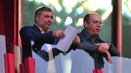 Джеван ЧЕЛОЯНЦ (слева) и Сергей ПРЯДКИН.