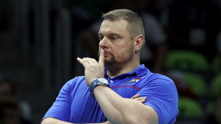 Наставник мужской сборной Владимир АЛЕКНО. Фото REUTERS