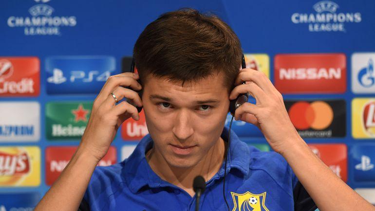 Дмитрий ПОЛОЗ на пресс-конференции. Фото REUTERS