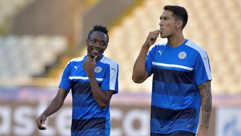 Ахмед МУСА (слева) и Леонардо УЛЬОА. Фото AFP
