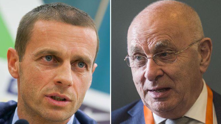 Александер ЧЕФЕРИН (слева) и Михаэл ВАН ПРАГ. Фото AFP