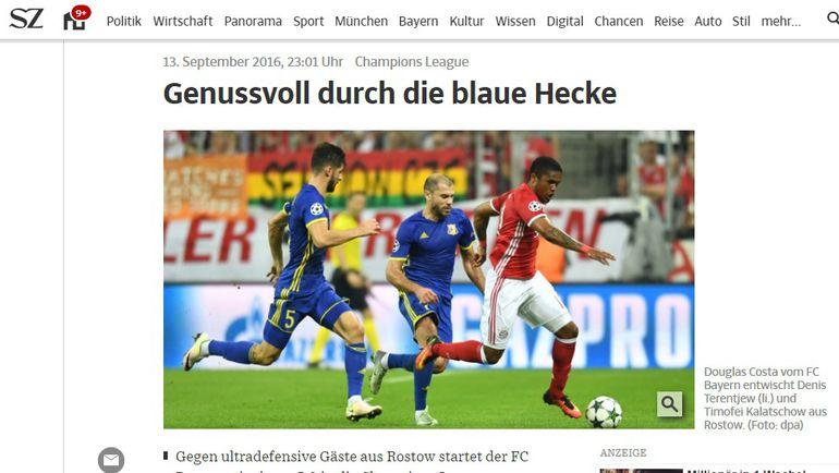 Suddeutsche Zeitung.