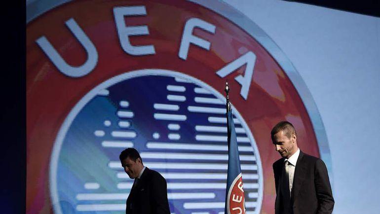 Новый президент УЕФА Александер ЧЕФЕРИН. Фото AFP
