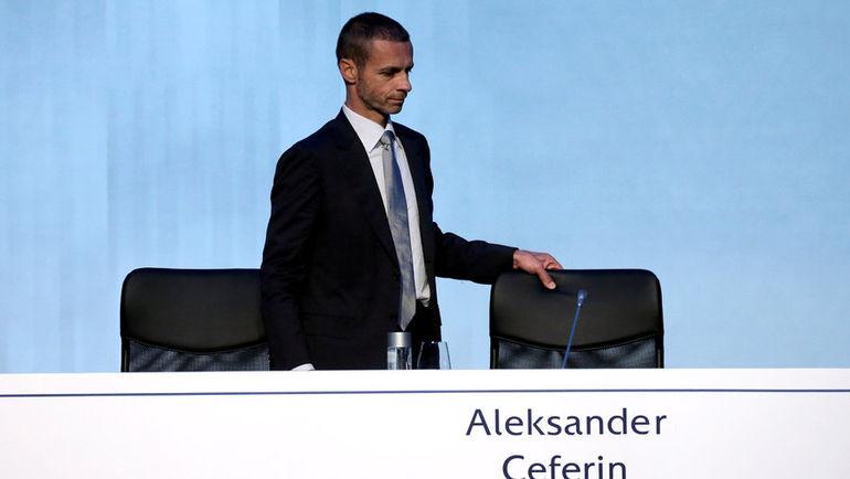 Новый президент УЕФА Александер ЧЕФЕРИН. Фото REUTERS