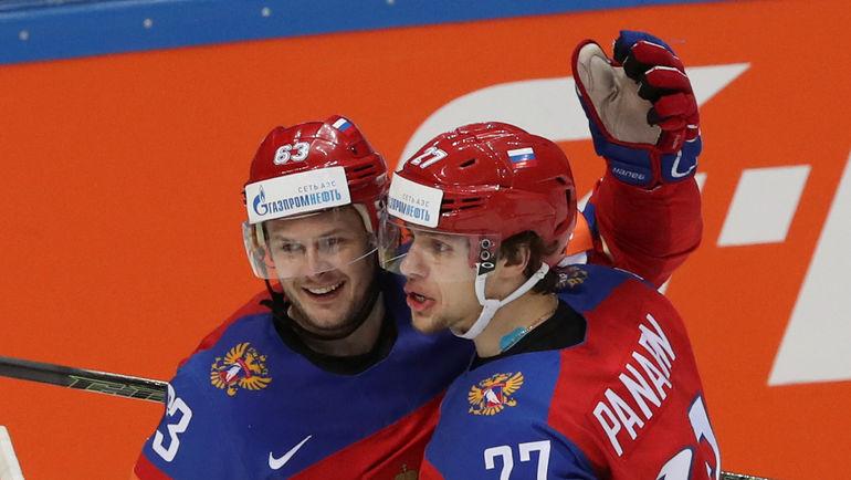 Евгений ДАДОНОВ и Артемий ПАНАРИН. Фото REUTERS