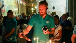 Вчера. Иван НОВОСЕЛЬЦЕВ на экскурсии по Иерусалиму.