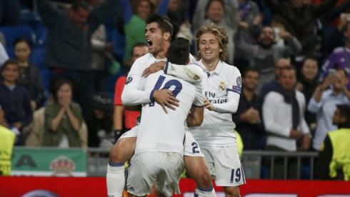 """""""Реал"""" на неделе добился впечатляющей победы над """"Спортингом"""", забив уже в добавленное время. Фото Reuters"""
