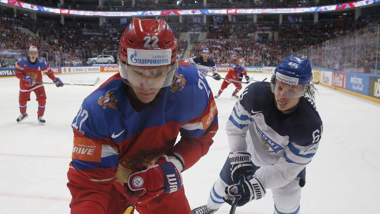 Никита ЗАЙЦЕВ (слева) против Микаэля ГРАНЛУНДА. Фото REUTERS