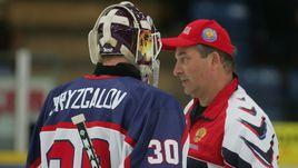 Илья БРЫЗГАЛОВ (слева) и Владислав ТРЕТЬЯК на Кубке мира-2004.