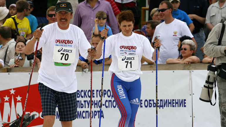 Михаил ДЕВЯТЬЯРОВ (слева). Фото Алексей ИВАНОВ