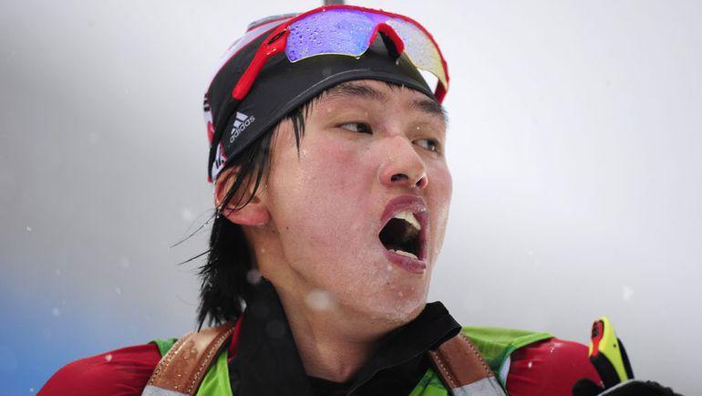 Корейские биатлонисты выступали и на Олимпиаде в Сочи. ЛИ Ин-Бок принимала участие в спринте. Фото AFP