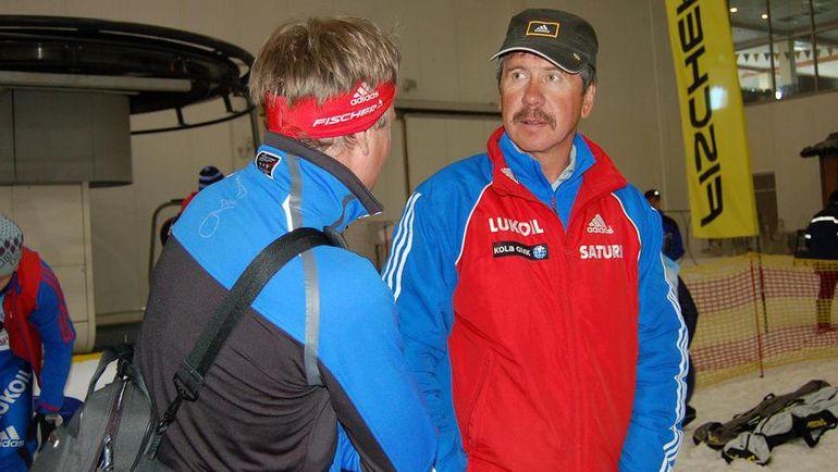 Михаил ДЕВЯТЬЯРОВ (справа). Фото skisport.ru