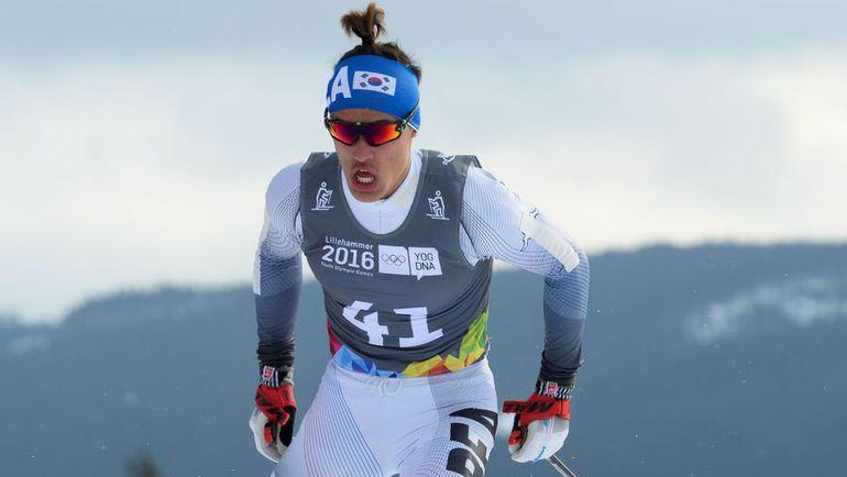 Золотой призер юниорской Олимпиады кореец Магнус КИМ. Фото AFP
