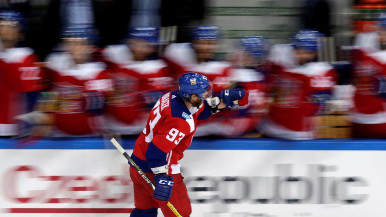 Нападающий сборной Чехии Якуб ВОРАЧЕК. Фото REUTERS