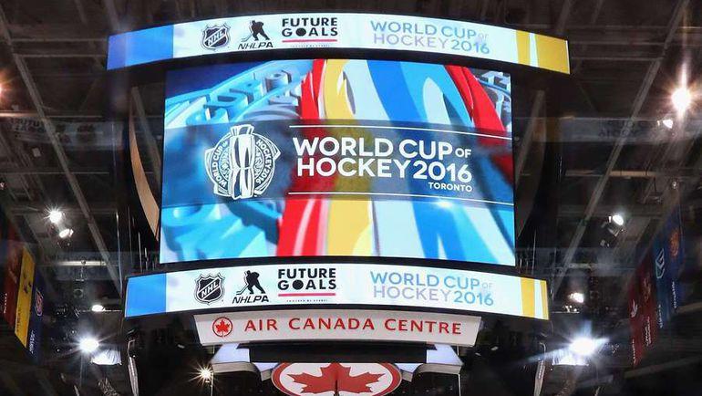 Видеокуб в Air Canada Centre в Торонто. Фото AFP