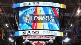 Видеокуб в Air Canada Centre в Торонто.