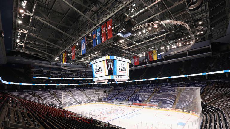 Общий вид Air Canada Centre, стадион примет все матчи Кубка мира-2016. Фото AFP