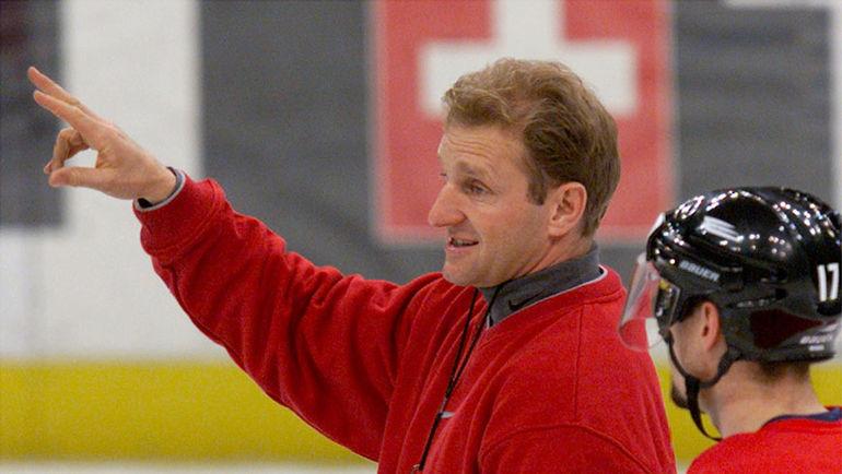 Май 2000 года. Москва. Ральф КРЮГЕР – главный тренер сборной Швейцарии на чемпионате мира в России. Фото REUTERS