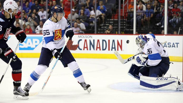 Пекка РИННЕ и сборная Финляндии, скорее всего, уступят сборной Северной Америки. Фото REUTERS