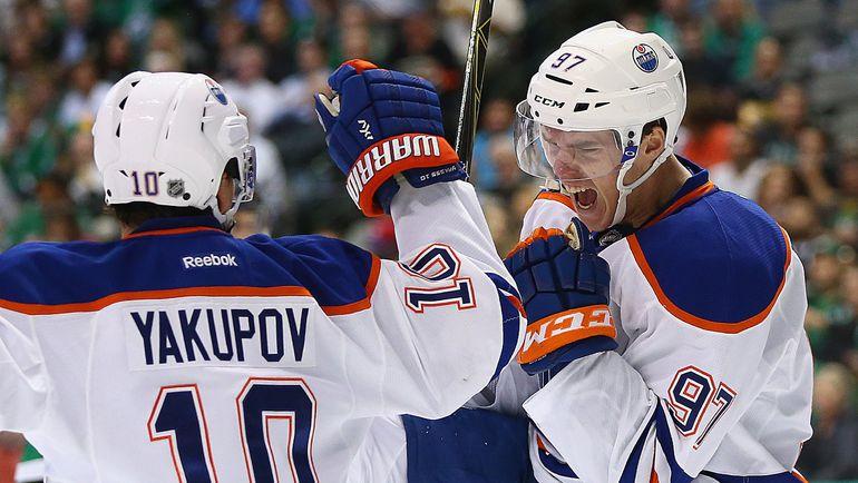 Наилья ЯКУПОВ и Коннор МАКДЭВИД. Фото REUTERS