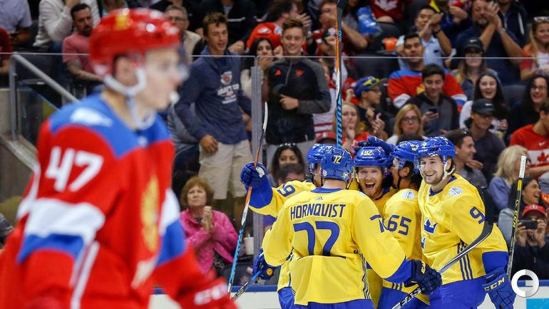 Воскресенье. Торонто. Кубок мира. РОССИЯ – Швеция – 1:2.
