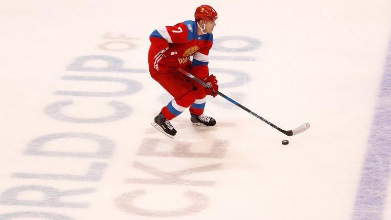Защитник сборной России Дмитрий КУЛИКОВ. Фото AFP