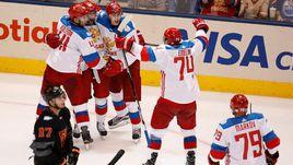Понедельник. Торонто. Северная Америка - Россия - 3:4. Россияне одержали первую победу на турнире.