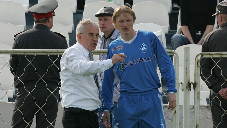 2005 год. Гаджи ГАДЖИЕВ и Андрей ГУСИН. Фото Александр ВИЛЬФ