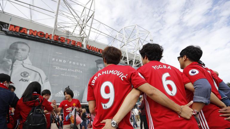 "Летние трансферы ""Юнайтед"" отлично пополнили казну клуба за счет продажи футболок. Фото REUTERS"