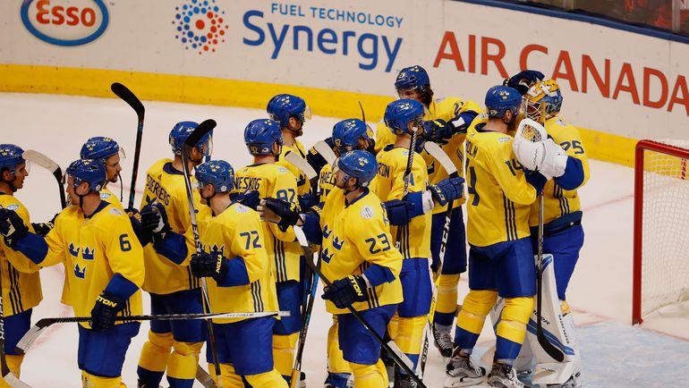 Шведы уже сегодня могут гарантировать себе плей-офф. Фото REUTERS