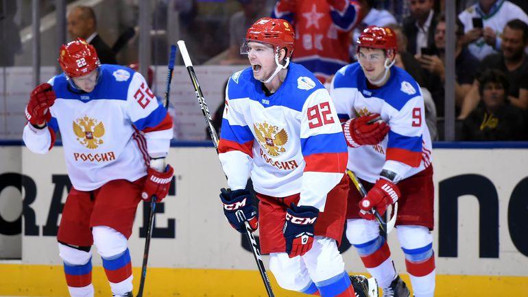 Игроки сборной России. Фото REUTERS