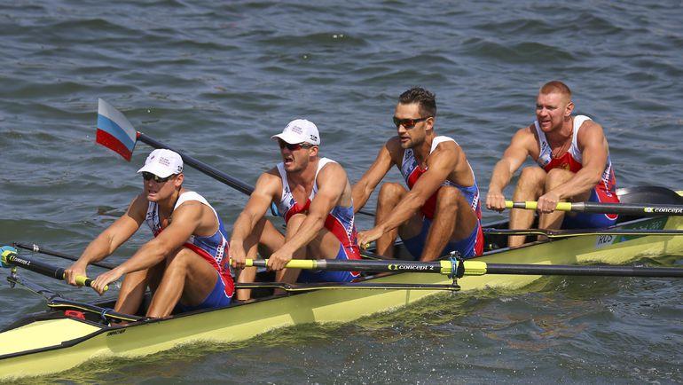 Единственная российская четверка, выступавшая в Рио. Фото REUTERS
