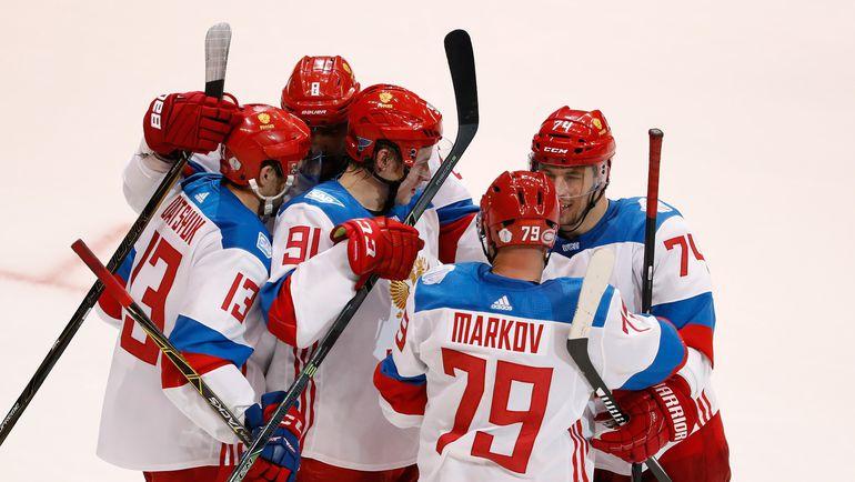 У сборной России еще есть шансы занять первое место в своей группе. Фото AFP